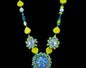 Aquatic Bloom Necklace