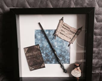 Personalised 'Magic' Print with Frame