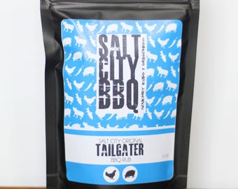 The Tailgater Salt City BBQ Original Rub | Chicken | Truck Tailgate | Victory | Football | Sports Fan | Gift for Him | Sports Gif|Christmas