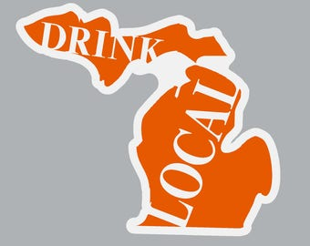 Drink Local Sticker / Decal