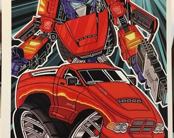 SRT-10 Optimus Prime - 12x18