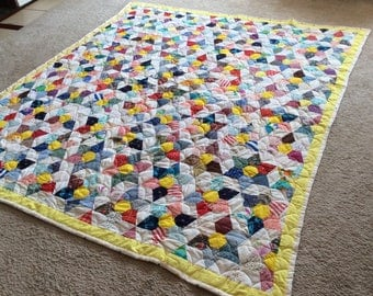 Star Within a Hexagon Quilt