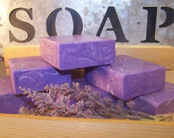Lavender Hand Crafted Soap/ Home Made Soap/ Valentines day gift