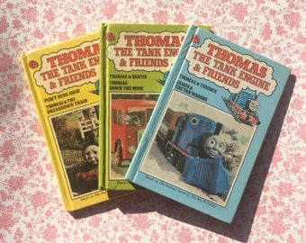 Set of 3 Vintage Ladybird Thomas the tank engine & Friends Books