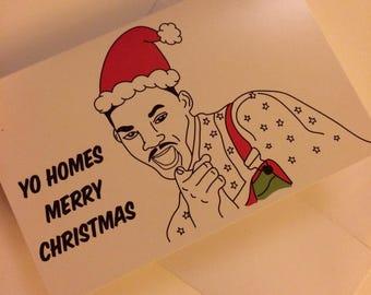 Fresh Prince Christmas Card