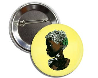 Song for Carliene 2-1/4 inch round button