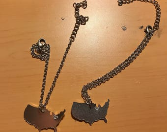 USA Pendant Necklace/Anklet