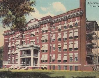 Newark, Ohio Vintage Postcard - Sherwood Hotel