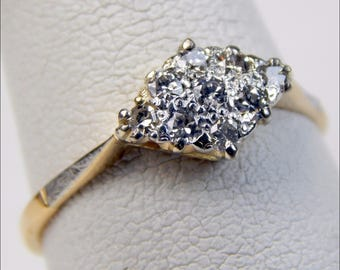 18k gold .45 Ctw diamond ring #10317