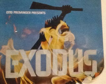 Exodus – Otto Preminger 1960 Movie Sound Track Lp – Ernest Gold – Rca~ Ships fast & free!!