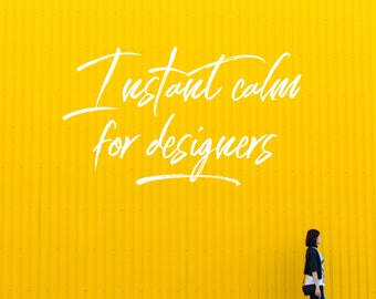 Instant Calm for Designers | Guided Meditation | Audio Download