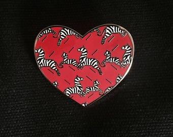 Wes Anderson enamel pin