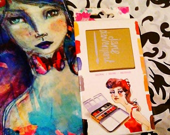 Jane Davenport Designs Neutral 12 PC. Watercolor Paint Set