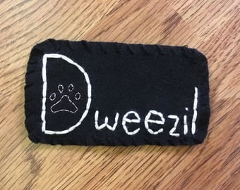 CUSTOM Hand Embroidered Felt Patch (Sew On/ Pin On)