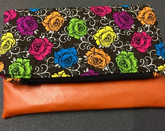 The Fold Over Clutch