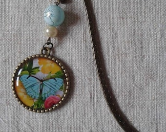 "Bookmark ""butterfly blue"""