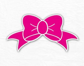 Bow Monogram Svg, Bow Svg, For Girls SVG, Silhouette Cut Files, Cricut Cut Files, Svg Cut Files