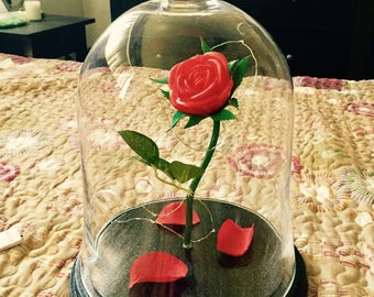 Beauty & The Beast Enchanted Rose