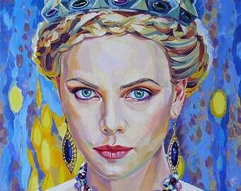 Charlize Teron-Queen Ravenna/Charlize Theron-King of Ravenna