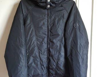 Jacket / Sergio Tacchini Vintage early 00 hooded jacket size M.