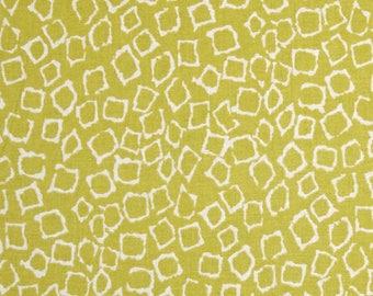 Kids patchwork green Michael Miller migration SPOTS fabric