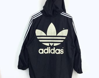 adidas windbreaker etsy. Black Bedroom Furniture Sets. Home Design Ideas