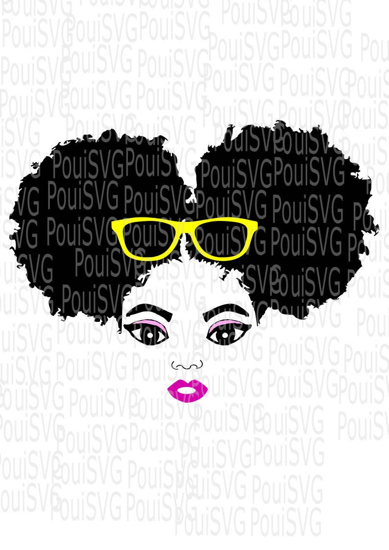 Download Afro puffs svgAfro puff svg Sistah svg Silhouette
