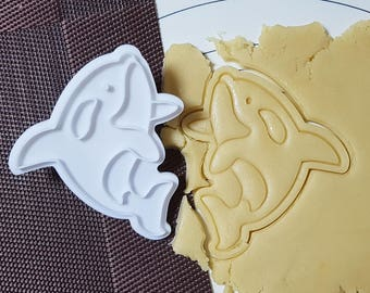 Killer Whale Cookie Cutter and Stamp