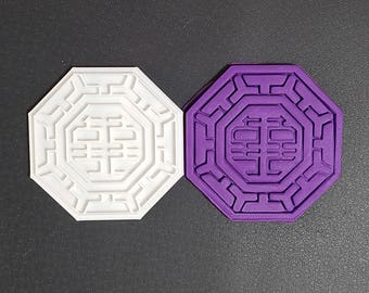 Traditional Korean Pattern - Happiness  Cookie Cutter and Stamp