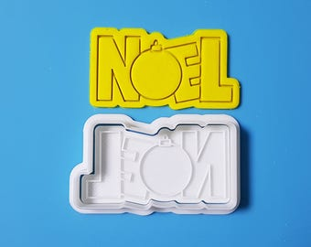 NOEL Cookie Cutter and Stamp