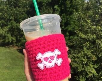 Cup cozy - Crochet cozy - Drink cozy - Knit cozy - Coffee cozy - Coffee cup cozy - Cup sleeve - Coffee cup sleeve - Mug cozy - Beer cozy