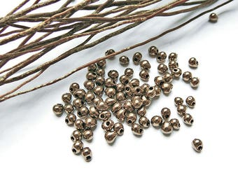 5 g of beads drop Miyuki 3.4 mm bronze
