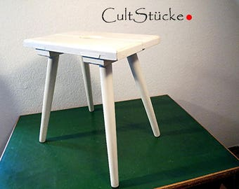 Shabby Chic 30s / 40s ancient large stool stool