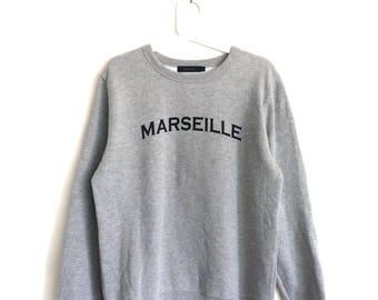 MARSEILLE RAGEBLUE sweatshirt  crewneck jumper