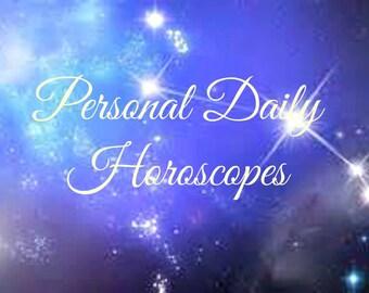 Personal Daily Horoscope