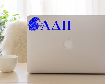 Alpha Delta Pi Decal, ADPi Sticker, Sorority Gift