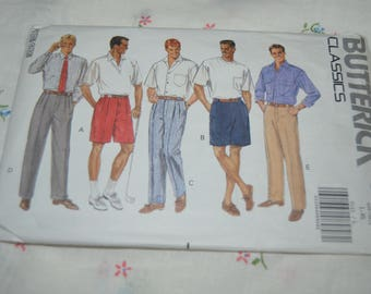 Butterick 5123 Mens Shorts and Pants Sewing Pattern - UNCUT - Size L - XL