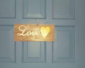 Love wall decor
