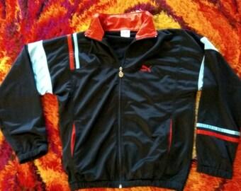 Vintage 90s Puma oldschool track jacket!