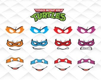 Ninja turtles svg|TMNT SVG|TMNT clipart, Teenage mutant ninja turtles svg ,png,dxf for Print/Silhouette Cameo/Cricut and Many More