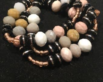 Multi color wrap bracelet/ necklace