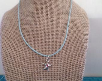 Starfish Charm Necklace, Starfish Charm, Starfish Charm Choker, Starfish Charm Pendant, Starfish Jewelry, Kids Jewelry, Childrens Jewelry