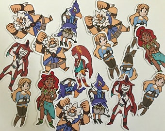 Breath of the Wild Stickers