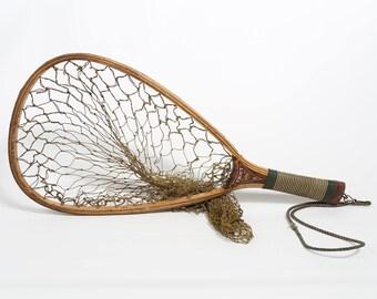 Trout Net, Antique Net, Vintage Net,