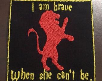 Gryffindor Bravery Patch