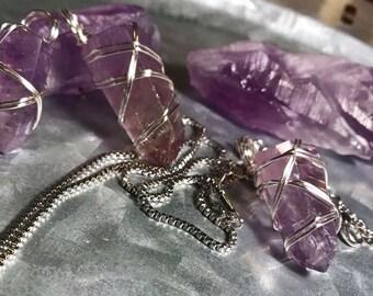 Amethyst necklaces