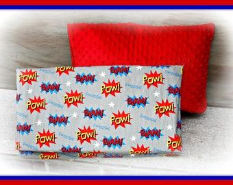 Comic - Superhero Themed Nap Mat Cover -Kindermat Cover - Preschool- Daycare - Kindergarten