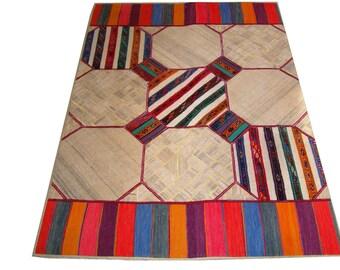 Persian Patchwork Kilim Rug PRH111, 167x237