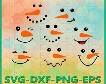 70% OFF, Snowman Face svg, Snowman SVG, Christmas Snowman Face Svg,  Christmas svg, Snowman Svg, Dxf, Eps, Png files, Silhouette Snowman