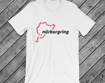 Nurburgring Race Track t-Shirt